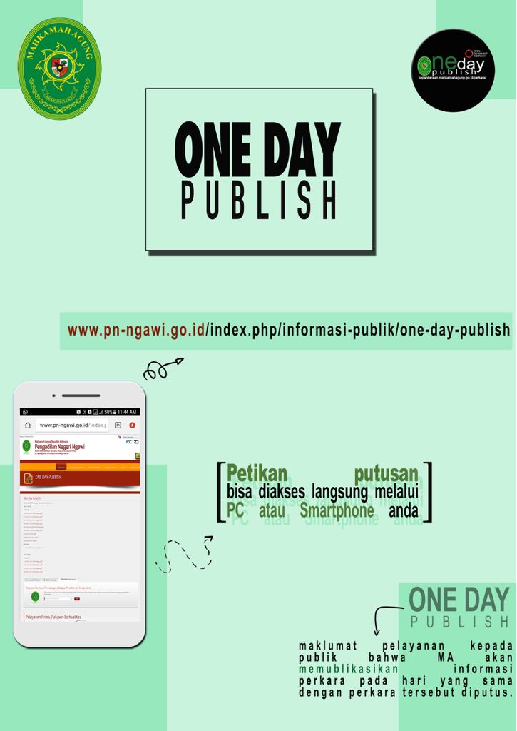 one day publish